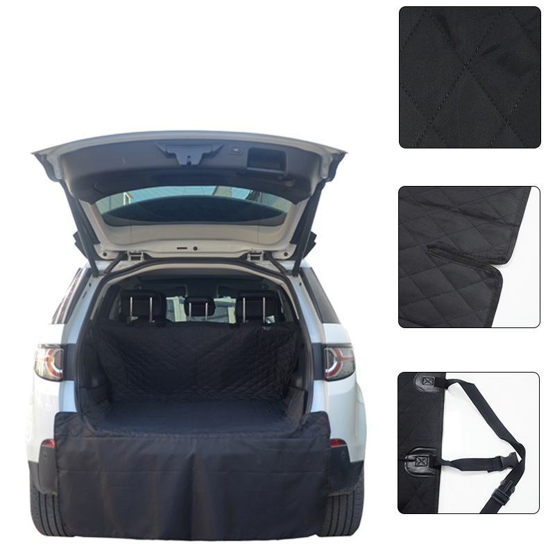 Car Pet Seat Cover Trunk Mat Tarpaulin Waterproof Oxford Cloth Dog Cat Back Seat Covers Rear Auto Pad Car Protection Blanket 1