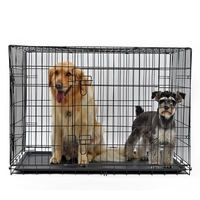 domestic-delivery-dog-cages-dog-cage-side-grazing-medium-large-dog-pet-dog-keji-iron-fence-universal-labrador-indoor