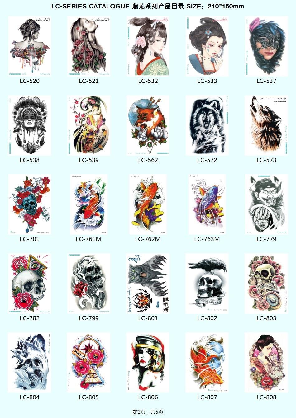 Cartoon tattoo designs on shoulder - Getsubject Aeproduct