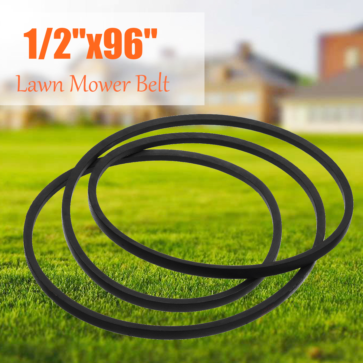 for yard machine lawn mower belts tractor drive v belt for lawn mover parts 13mm 1 2 x 96 k type vee rubber belt for industry [ 1200 x 1200 Pixel ]