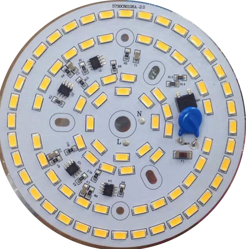 7b68fe7bd41 100pcs/lot Free shipping Dimmable Driverless led down light 3w 5w 7w 9w 12w  15w 25w led ceiling light led bulb 4 years warranty