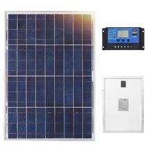 Anaka 12V 40W Lượng Mặt Trời Trung Quốc Nhỏ Pin Năng Lượng Mặt Trời Đa Tinh Thể Silicon Paneles Solares Bộ Bộ Dụng Cụ Chống Nước Ngoài Trời Tấm