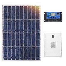 Anaka 12V 40W שמש פנל סין קטן סוללה סולארית Polycrystalline הסיליקון Paneles Solares סטי ערכות עמיד למים חיצוני פנלים