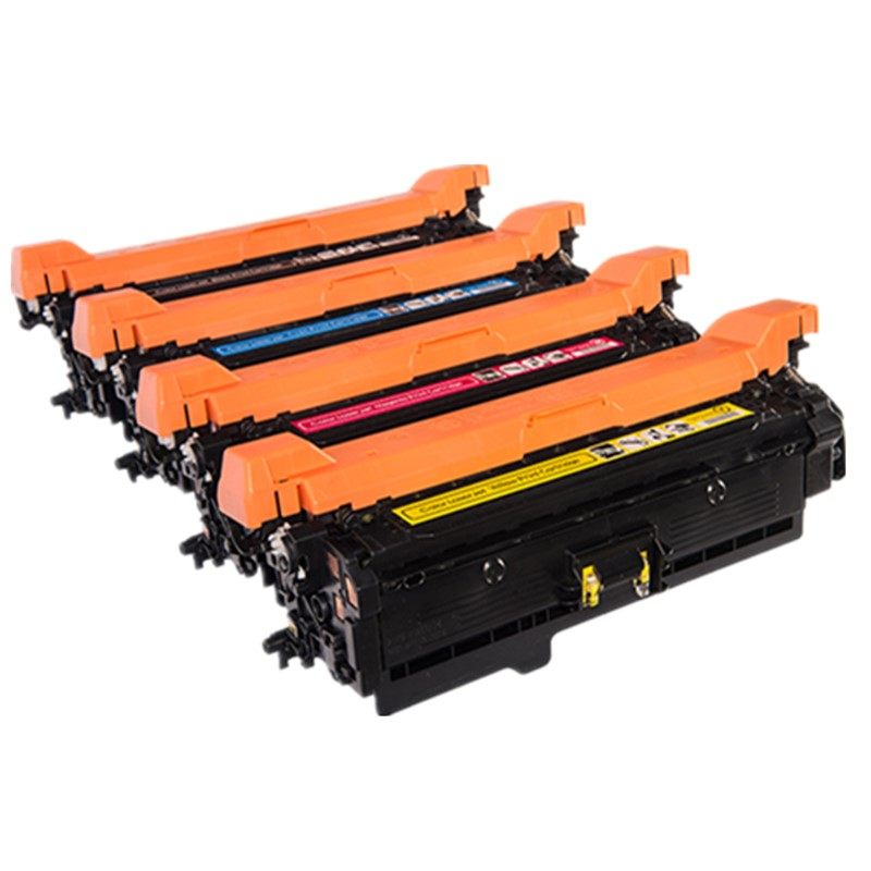 Inksters Compatible Black Toner Cartridge Replacement for HP 504A CE250A Black Compatible with Color Laserjet CP3525 CP3525N CP3525DN CP3525X CM3530 CM3530FS MFP