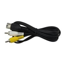 Para Sega Génesis 1 Audio Video Cable AV Cable RCA Cable