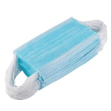 50pcs/10pcs Anti-dust Safe Breathable Mouth Mask Dental Disposable Kids Adult Ear loop Face Surgical Hypoallergenic Masks Filter