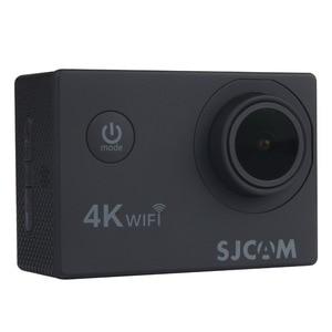 """Image 3 - Sjcam câmera de ação sj4000 air 4k, câmera full hd, 4k, 30fps, wifi, tela de 2.0 """", mini, para capacete, à prova d água câmera de gravação esportiva dv"""