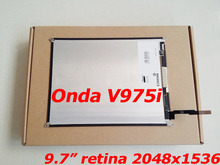 New 9.7 LCD Display for Onda V975i 2048x1536 IPS HD Retina Screen LCD Screen Panel Replacement new lcd panel for dmf50174