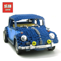 Lepin Creator 21014 Technic Car Classic Series the Ultimate Beetle Set Model Building Blocks Bricks Children Toy Gift Lepin