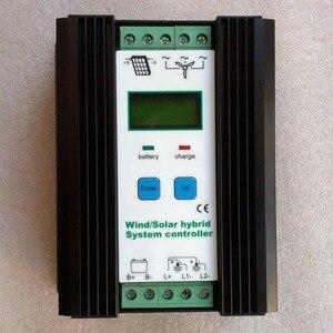Gió Năng Lượng Mặt Trời Lai Bộ Điều Khiển Sạc 12V 24V = Max 800W Tuốc Bin Gió Máy Phát Điện Điều Khiển & 400W 300W PV Tấm Pin Năng Lượng Mặt Trời Bộ Điều Khiển