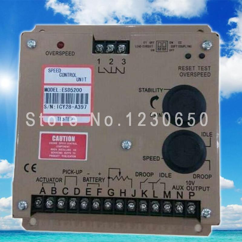 ESD5200 Generator Speed Controller ESD 5200 esd 5221 speed controller esd5221