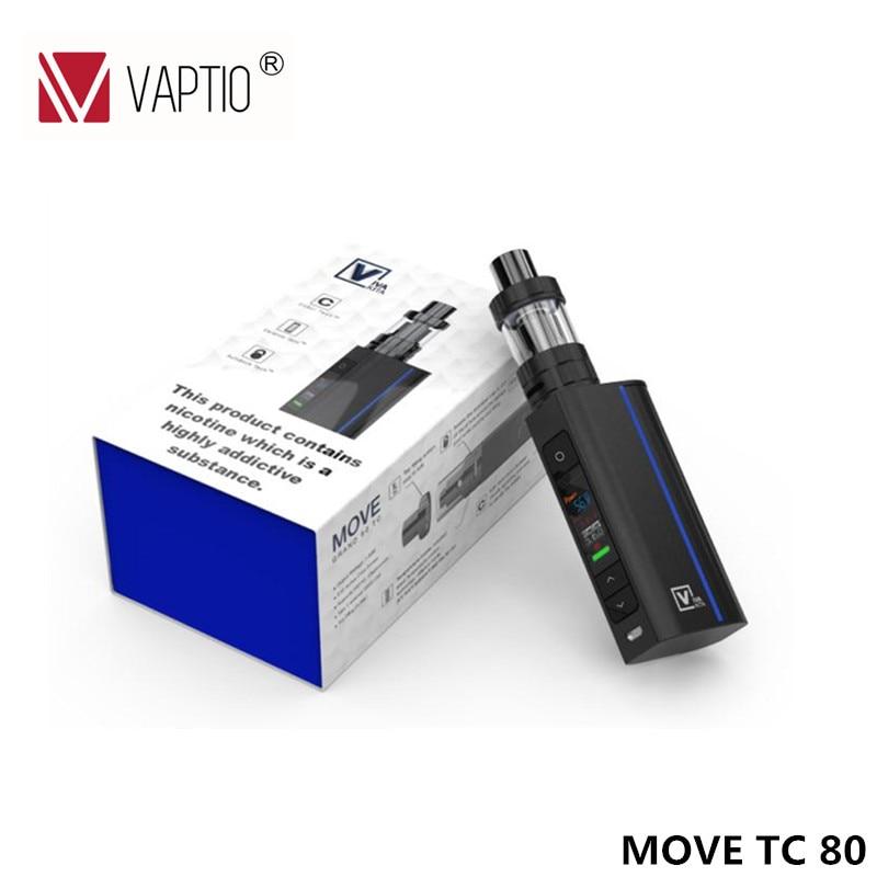 Vivakita 80W vape kit new box mod 1-80W vw mod VW/VT-Ni/Ti/SS/NICr temp control e cigarette starter kit n vape a 1