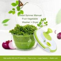 Manual Fruit Vegetables Dehydrator Dryer Cleaner Basket Kitchen Dehydrator Baskets Washer Fruits Salad Lettuce Spinner Strainer
