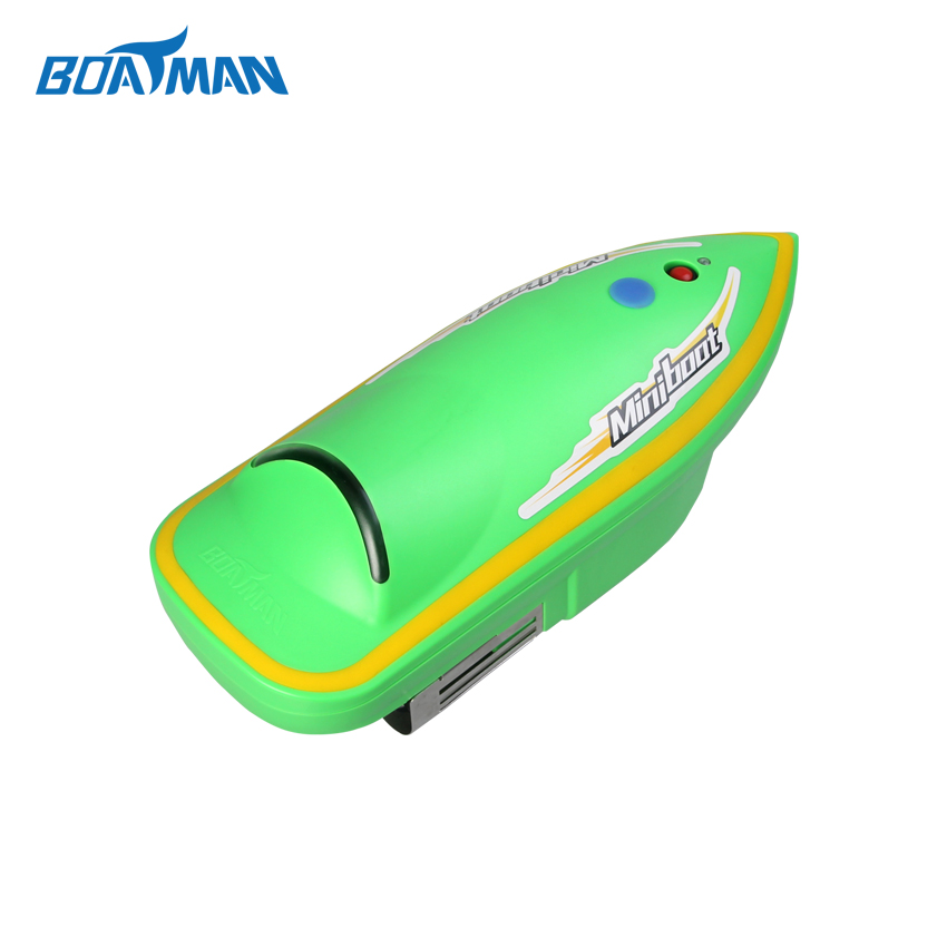 Green color fishing racing boat mini size boat for kids and adults bait boat boat