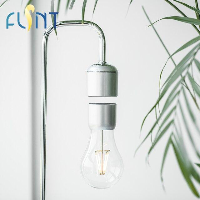 Ampoule FLSNT Magnétique Lévitation Flottant Ampoule Lampe de Bureau 2