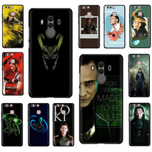 Marvel Hero Loki Soft Silicone phone case for Huawei P8 P9 P10 P20 Mate 10 20 30 Pro Lite Plus Mini P Smart Z Plus(China)