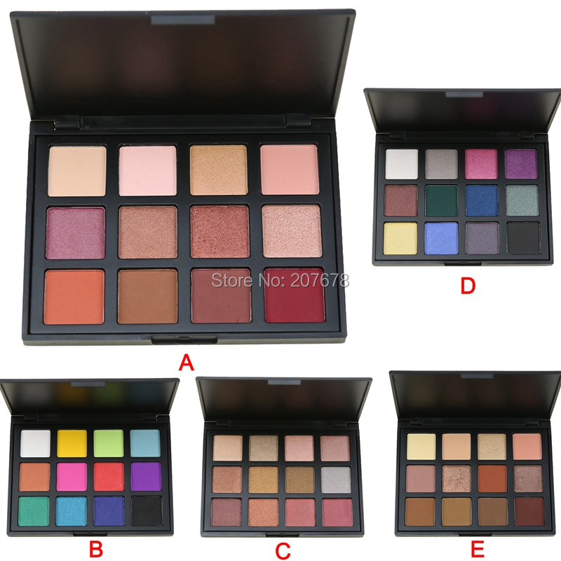 12 Color Eyeshadow Pallete Attractive Scenery Brand Eye Shadow Matte Nature Shimmer Smoky Make up Palette Set Cosmetics 5 Model