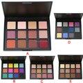 Atractivo Paisaje Marca 12 Colores de Sombra de Ojos Paleta de Sombra de Ojos maquillaje Paleta Set de Cosméticos 5 Modelo