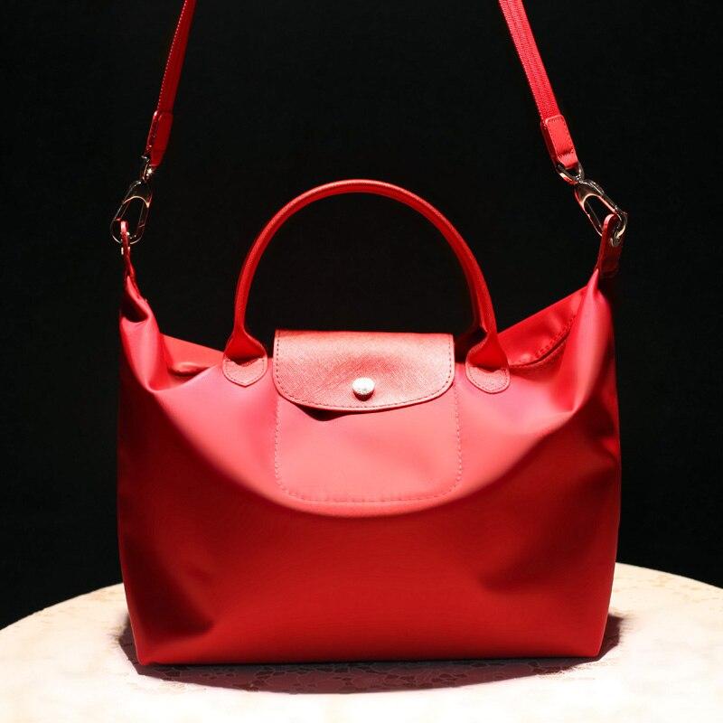 COSSLOO Mode frauen taschen falten Casual-tasche Schulter frauen leder Handtaschen knödel Marke folding schule reisetasche bolsa