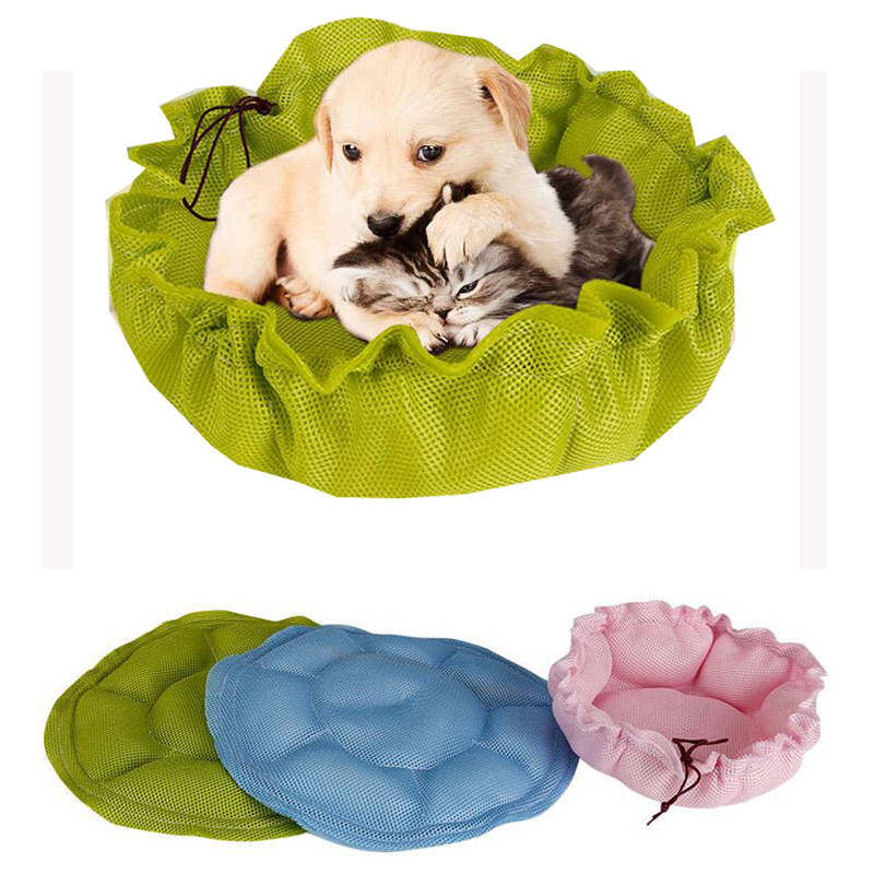 Dog Bed Mat Kennel Pet Dog Puppy Breathable Bed House Cozy Nest Dog House Pad Pet Cat House Summer Autumn Small Pet Supplies