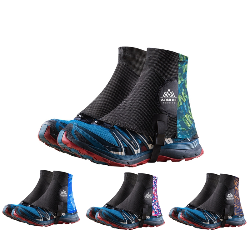 AONIJIE Trail Running Gaiters High Protective Sandproof Outdoor Unisex Shoe Covers For Triathlon Marathon Hiking Reflective E941