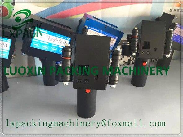 LX-PACK Più Basso Prezzo di Fabbrica Industriale a getto d'inchiostro di stampa laser di marcatura di caso di codifica versatile palmare stampanti a getto d'inchiostro Inchiostro di Alimentazione