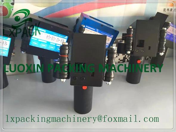 LX-PACK Usine Le Plus Bas Prix Industriel d'impression à jet d'encre laser marquage cas codage polyvalent portable imprimantes à jet d'encre D'alimentation En Encre