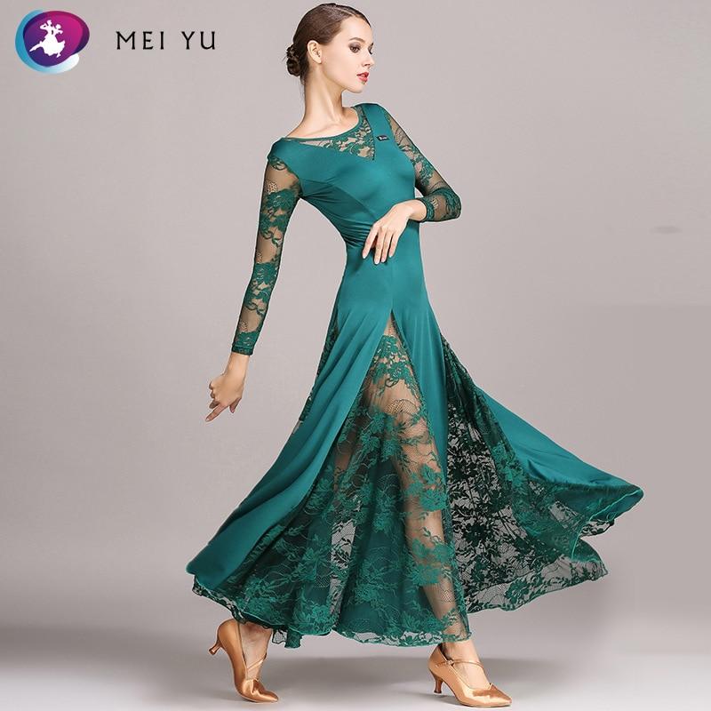 Gedisciplineerd Mei Yu S9010 Moderne Dans Kostuum Vrouwen Dames Dancewear Waltzing Tango Dansen Jurk Ballroom Kostuum Avond Party Dress Compleet In Specificaties