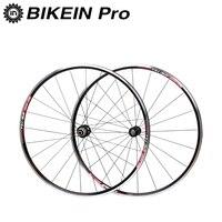 BIKEIN Ultralight 700C Road Bike Front 2 Rear 4 Bearing Aluminum Wheels 9 10 11 Speed