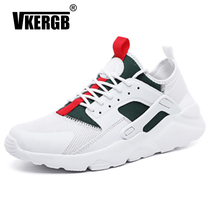 Breathable Mesh Men Shoes Fashion Lace Up Footwear Male Zapatillas Lightweight Breathable Zapatillas Man Casual Walking Sneakers цены