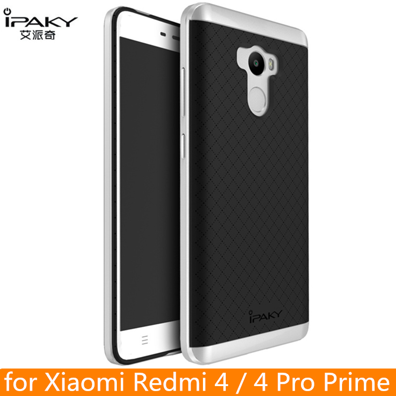 për Xiaomi Redmi 4 Pro Case Case origjinal iPaky Silicone PC Cover mbrojtëse hibrid për Xiaomi Redmi 4 Cover Cover Fundas