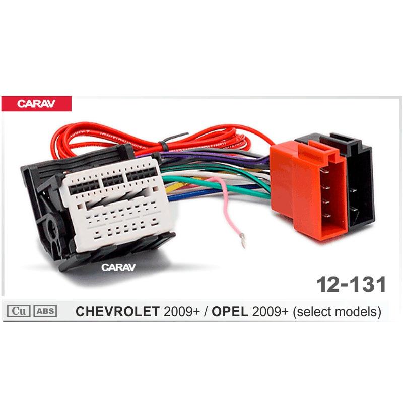 Carav 12 131 Iso Radio Adapter For Chevrolet For Opel