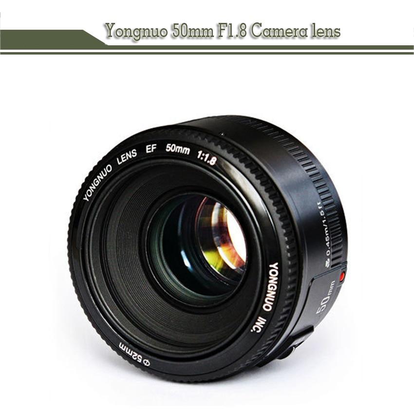 50mm YN50MM F1.8 Large Aperture Auto Focus Lens EF AF/MF For Canon EOS 600D 550D 70D 700D 750D 1100D 1200D 1300D 200D