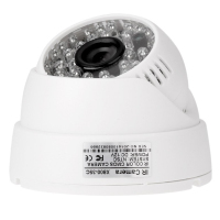 1 3 CMOS 800TVL 48 IR LED Internal Security Camera 3 6 Mm Dome Of The