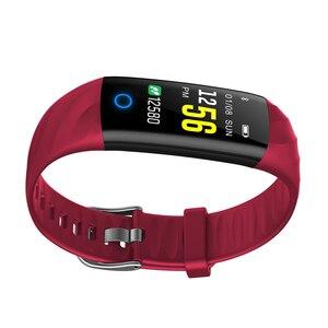 Image 4 - SENBONO pulsera inteligente S5 Bluetooth IP68, con control del ritmo cardíaco y de la presión sanguínea, resistente al agua y con Monitor de oxígeno, seguidor de actividad