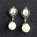 Declaración de moda Pendientes De perlas de Cristal de Lujo Diseños Para Las Mujeres Party