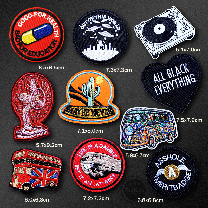 BABY GIRL BOY   8cm 3/'  Embroidered Iron Sew On Cloth Patch Badge  APPLIQUE