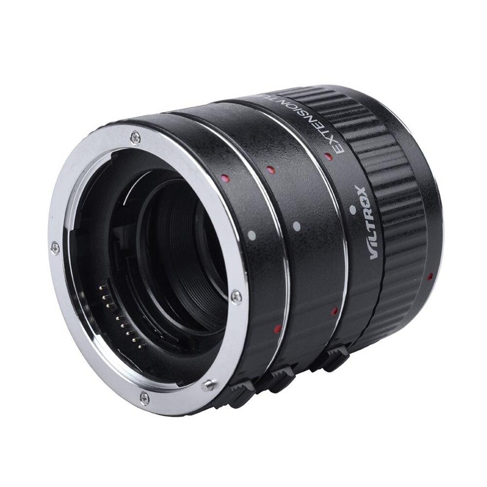 Adaptateur d'objectif Viltrox DG-C Tube d'extension Macro monture métal Auto Focus objectif Macro adaptateur d'objectif de prise de vue Macro pour Canon EOS 750D - 5