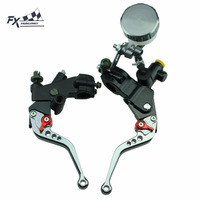 7 8 125CC 600CC For Suzuki GS500 GS500E GS500F Motorcycle Master Cylinder Reservoir Brake Clutch Lever