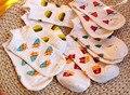 Nova Marca Kawaii fruto bonito amor doce cor de meias de algodão de verão estilo bonito baixa tornozelo meias das mulheres