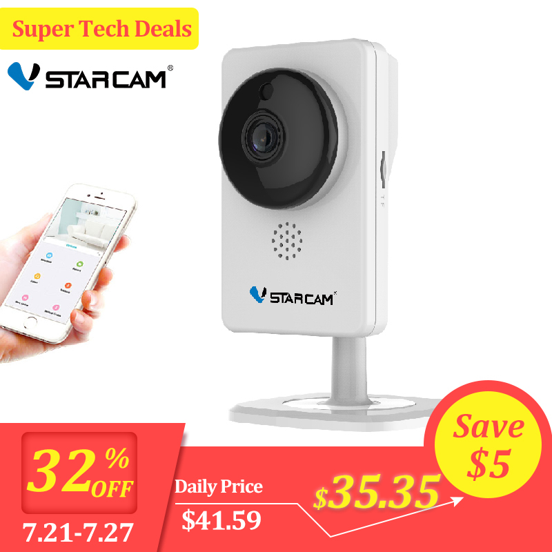 VStarcam IP Camera C92S 1080P Wi Fi Mini Camera Infrared Night Vision Motion Alarm Video Monitor