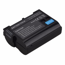 1Pcs 2550mah EN-EL15 enel15 EN EL15 decoded Camera Battery For Nikon DSLR D600 D610 D800 D800E D810 D750 D7000 D7100 V1 Battery