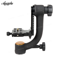 QZSD Q45 Panoramic Gimbal Pan Tripod Head for Benro Manfrotto tripod&canon nikon sony camera