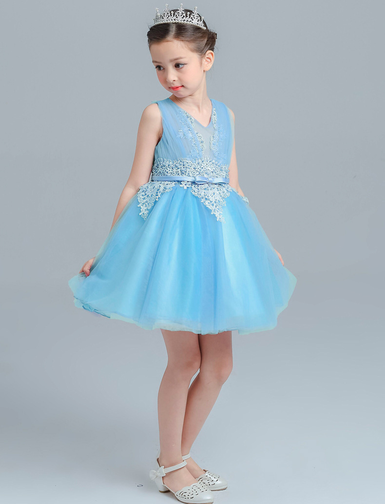 Aliexpress.com : Buy Summer Flower girl dresses 3 10 yrs Girls party ...