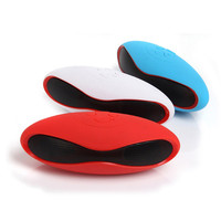 Rugby Style Multicolor Portable Wireless Bluetooth Speaker mp3 Player Subwoofer FM Redio Deep Bass Bluetooth Receiver Speakers