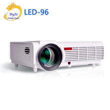 LED96 LED Projector Video HDMI USB 1280×800 Full HD 1080P Home theater projector  High lumens  proyector 3D projector  BT96