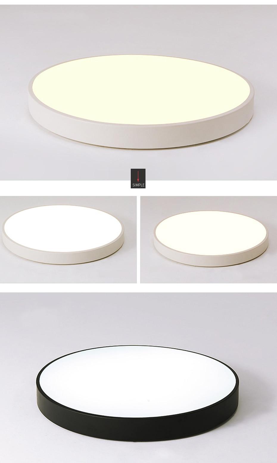 HTB1PhNZXJfvK1RjSspoq6zfNpXaH Ultra-thin LED 5cm Ceiling Light Modern Ceiling Lamp Surface Mount Flush Panel Remote Control Light for Restaurant Foyer Bedroom