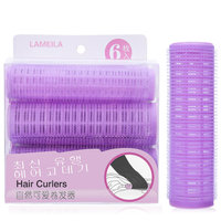 LAMEILA 6 ADET/TAKıM Sihirli Büyük Saç Silindirleri Saç Bigudi Plastik bigoudis Spiral Saç Kıvırcıklaştırıcılar Kuaförlük Şekillendirici DIY Araçları