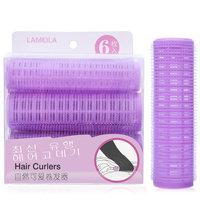 LAMEILA 6PCS/SET Magic Large Hair Rollers Hair Curler Plastic bigoudis Spiral Hair Curlers Hairdressing DIY Styling Tools