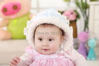 Free Shipping Baby Princess Hat Baby Cap Kids Winter Hat
